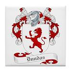 Dundas Family Crest Tile Coaster