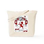 Dundas Family Crest Tote Bag