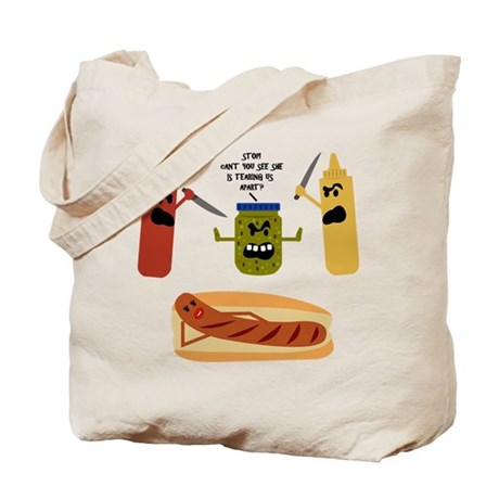 Food fight - Tote Bag