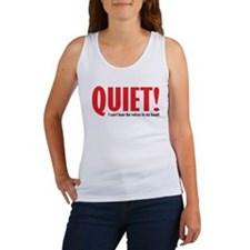 Quiet (voices) Women's Tank Top