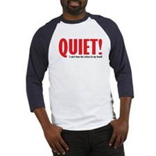 Quiet (voices) Baseball Jersey