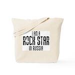 Rock Star In Russia Tote Bag