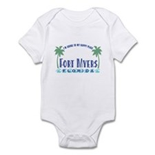 Ft. Myers Happy Place - Infant Bodysuit