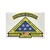 Honor Guard Rectangle Magnet