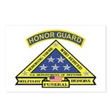 Honor Guard Postcards (Package of 8)