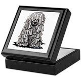 Komondor Keepsake Box