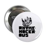 "rhymenocerous graffiti 2.25"" Button"