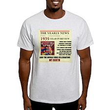 born in 1939 birthday gift T-Shirt