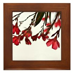 floral Framed Tile