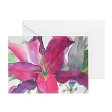 Lily Note Card