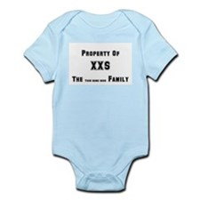 Property Of Personalized/Custom Infant Bodysuit