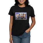 Bangor Maine Greetings Women's Dark T-Shirt