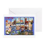 Bangor Maine Greetings Greeting Cards (Pk of 20)
