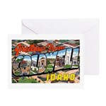 Caldwell Idaho Greetings Greeting Card