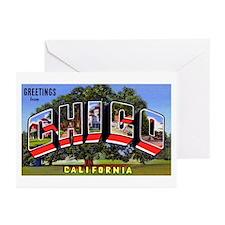 Chico California Greetings Greeting Cards (Pk of 2
