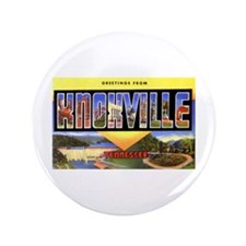 "Knoxville Tennessee Greetings 3.5"" Button"