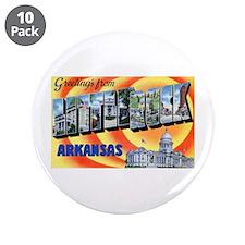 """Little Rock Arkansas 3.5"""" Button (10 pack)"""
