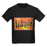 Los Angeles California Greeti Kids Dark T-Shirt