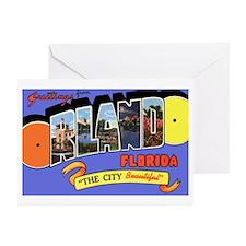 Orlando Florida Greetings Greeting Cards (Pk of 20