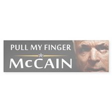 Pull My Finger Bumper Bumper Sticker