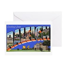 Raleigh North Carolina Greeti Greeting Card