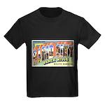 Rapid City South Dakota Greet Kids Dark T-Shirt