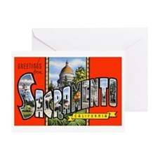 Sacramento California Greetin Greeting Card
