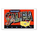 Salina Kansas Greetings Rectangle Sticker 10 pk)