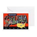 Salina Kansas Greetings Greeting Cards (Pk of 20)