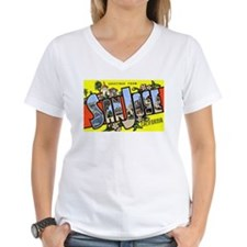 San Jose California Greetings Shirt
