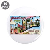 "Indiana Greetings 3.5"" Button (10 pack)"