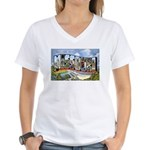 Missouri Greetings Women's V-Neck T-Shirt