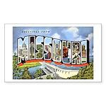 Missouri Greetings Rectangle Sticker 10 pk)
