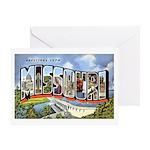 Missouri Greetings Greeting Card