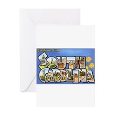 South Carolina Greetings Greeting Card