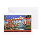 Washington State Greetings Greeting Card
