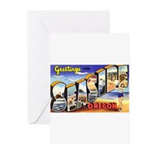 Seaside Oregon Greetings Greeting Cards (Pk of 20)