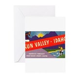 Sun Valley Idaho Greeting Cards (Pk of 20)