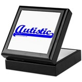 Softball Autistic Keepsake Box