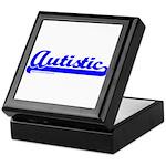 Softball Autistic Keepsake Box