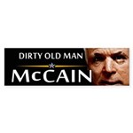 Dirty Old Man Bumper Sticker