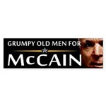 Grumpy Old Men Bumper Sticker