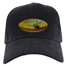 Green Mamba Snake Baseball Hat