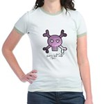 scary but cute Jr. Ringer T-Shirt