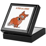 What? Fox Keepsake Box