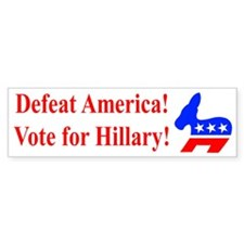 Vote for Hillary Bumper Sticker (10 pk)