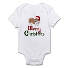 Christmas Corgi Infant Bodysuit