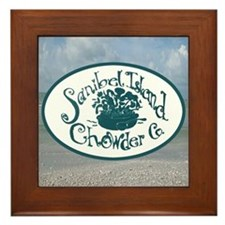 Sanibel Chowder Framed Tile
