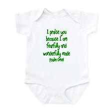 Psalm 139:14 Infant Bodysuit