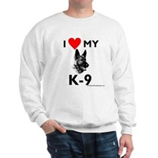 """I Love My K-9"" Sweatshirt"